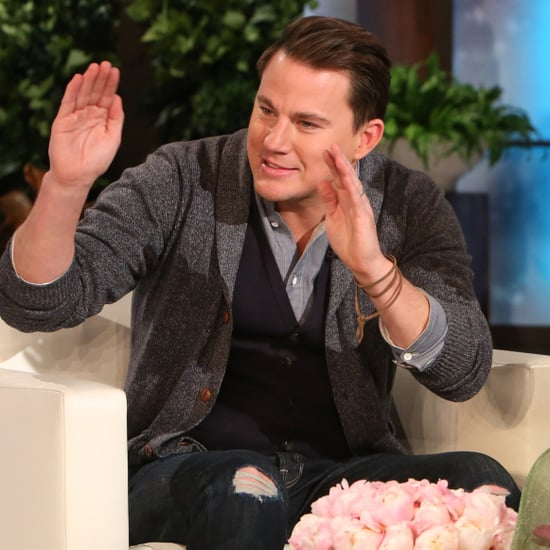 Channing Tatum Talking About Beyonce on The Ellen Show