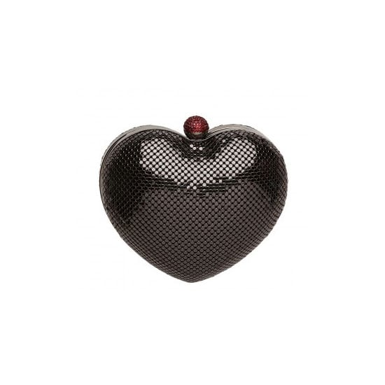 Is there any time more appropriate to incorporate a heart-shaped clutch into your wardrobe than Valentine's Day? I think not. This little cutie is perfect for a date night —it holds all your essentials, fits the theme and provides a good talking point if things go stale! — Genevieve, associate editor Bag, $149, Mimco