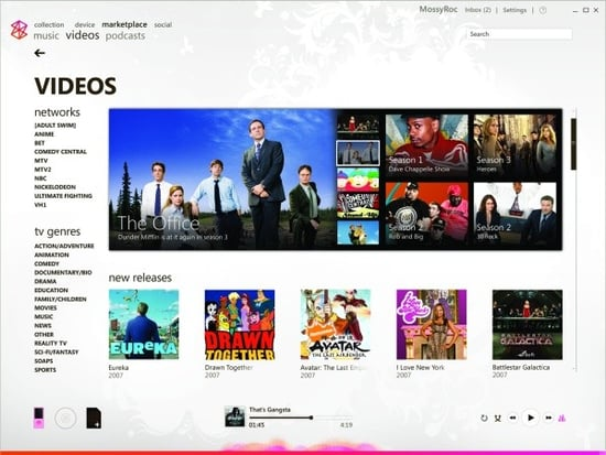 Daily Tech: Latest Zune Update Offers TV Show Downloads!