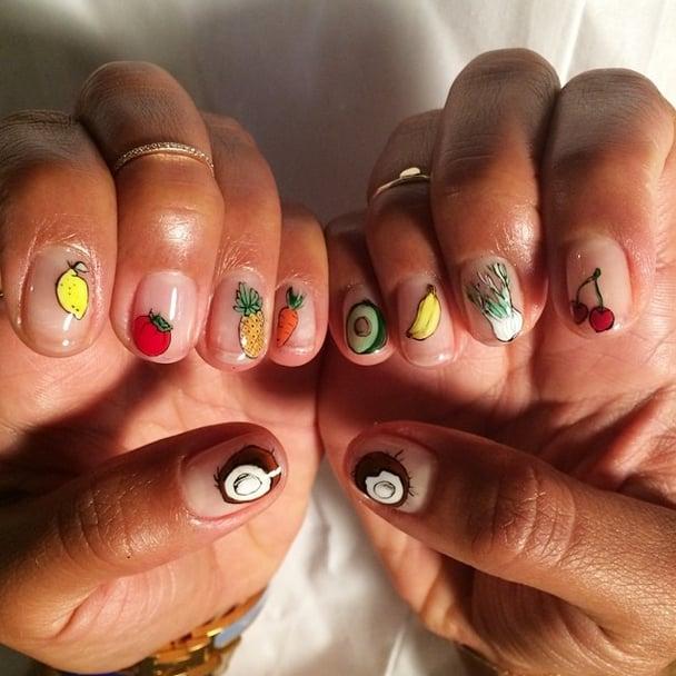 Her Nail-Art Inspiration
