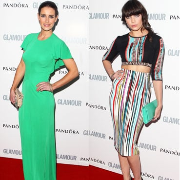 Green Theme at Glamour's Women of the Year Awards