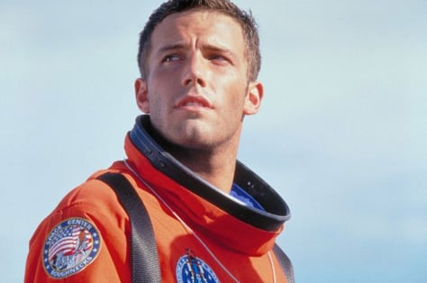 Who could forget Ben Affleck's bright orange astronaut suit when he starred as A.J. Frost in 1998's Armageddon? Photo courtesy Walt Disney Motion Pictures