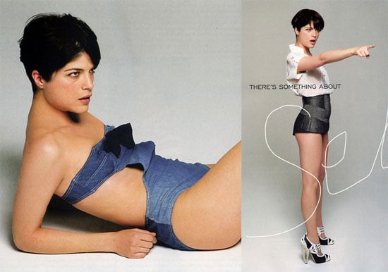 Selma Blair in Elle UK March 2008