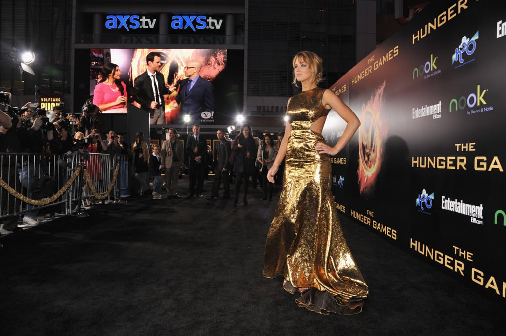 The Hunger Games was definitely one of the most highly anticipated films of the year, and at the LA premiere in March, Jennifer Lawrence wowed everyone in this stunning Prabal Gurung gown.  — Michelle Manning, editorial assistant