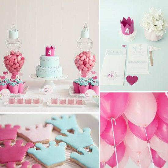 An Elegant Princess-Themed Party