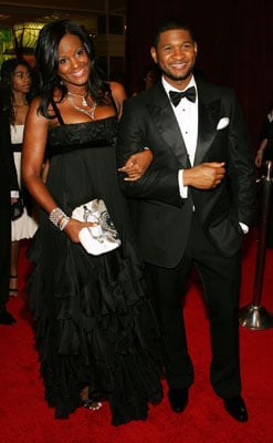 Usher And Tameka Wed In Small Civil Cermony