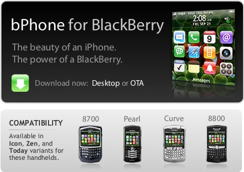 Make Your BlackBerry Look Like an iPhone