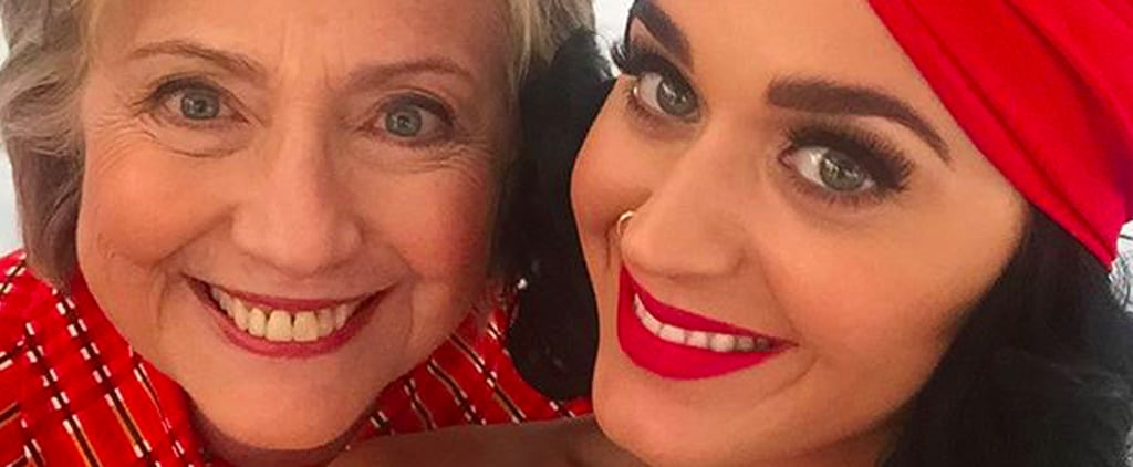 Katy Perry Gets Patriotic and Rallies With Hillary Clinton