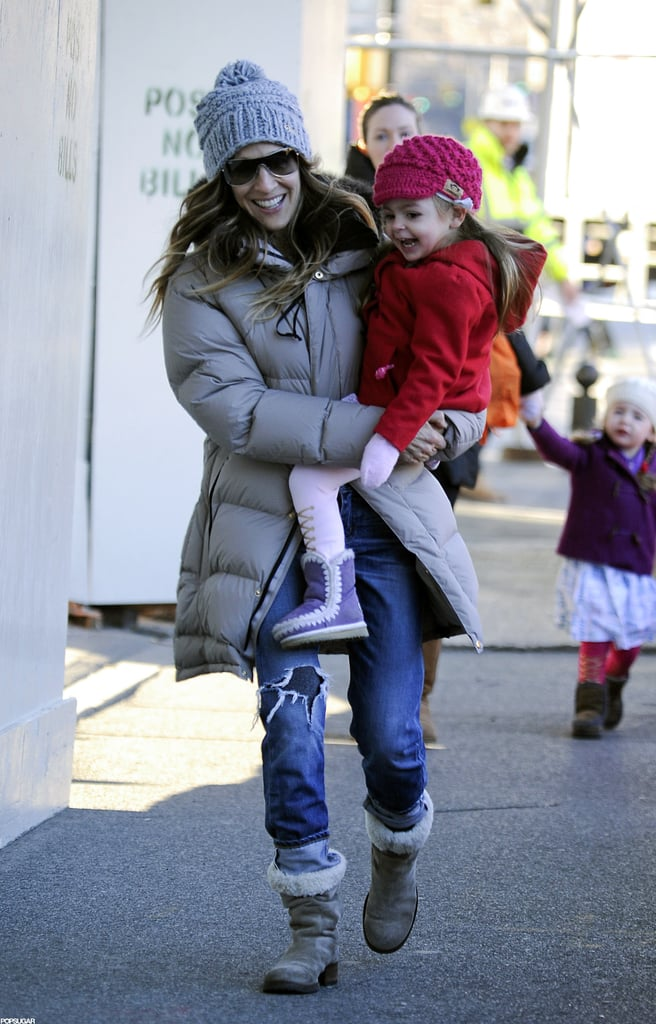 SJP Spends a Smiley Morning With James Wilkie and the Twins