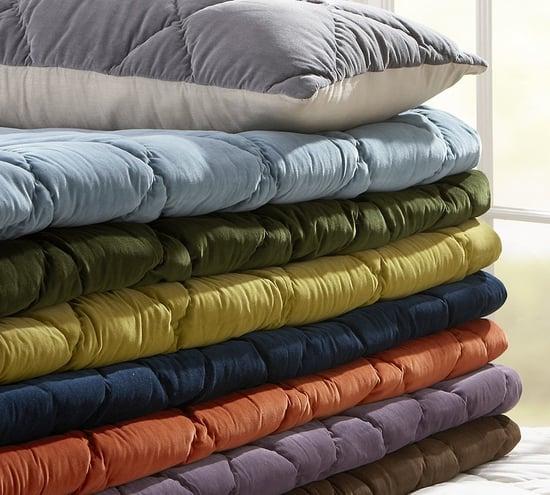 Steal of the Day: Pottery Barn Velvet Linen Quilt and Sham
