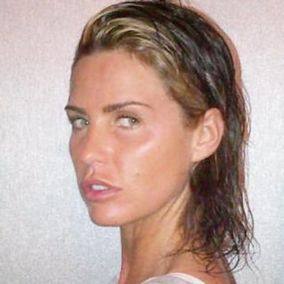 Katie Price With Makeup and Extensions or Natural Look Poll