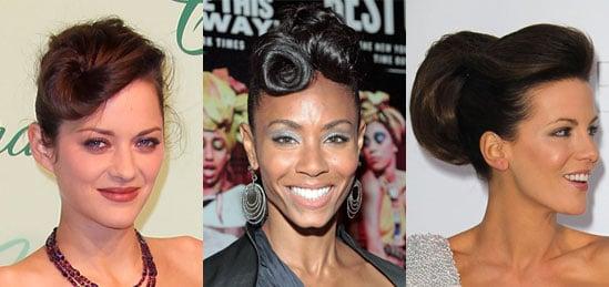 Swirled Updo Hair Trend