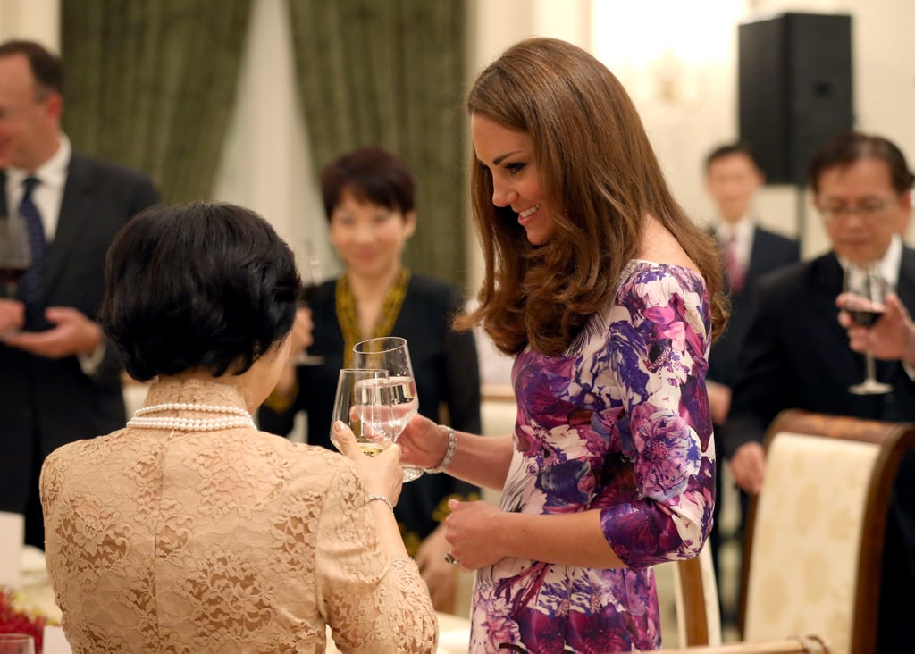 Kate Middleton and Mary Tan toasted.