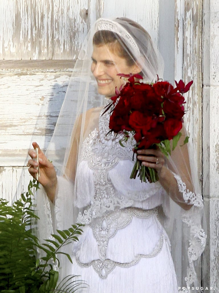 Jennifer Aniston, Cameron Diaz, Lance Armstrong, and Many More Stars Attend Lake Bell's Wedding!