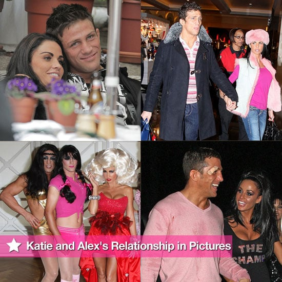 Pictures of Katie Price and Alex Reid's Relationship Following Their Separation