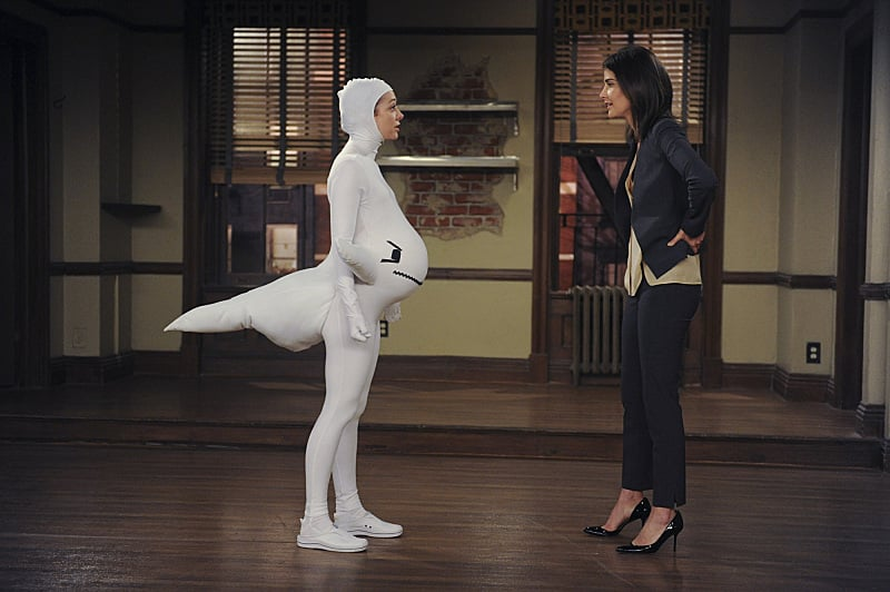 Lily dresses as the White Whale for Halloween, but despite the cute costume, it's a bittersweet moment when Robin admits that the group will never be what it once was.