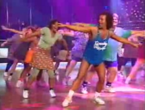Richard Simmons Walk It Out Mashup