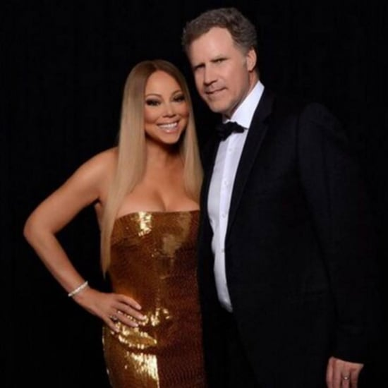 Mariah Carey and Will Ferrell Hang Out February 2016
