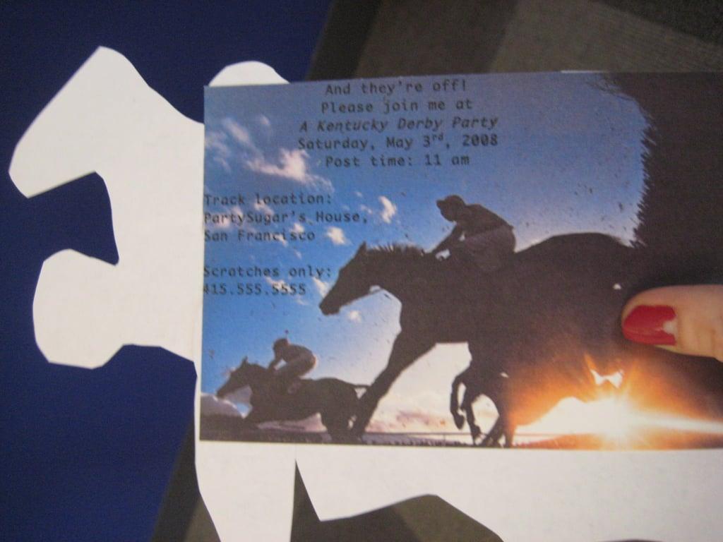 Kentucky Derby Invite: Step by Step