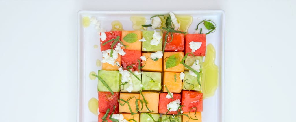 Refreshing Cucumber and Melon Salad