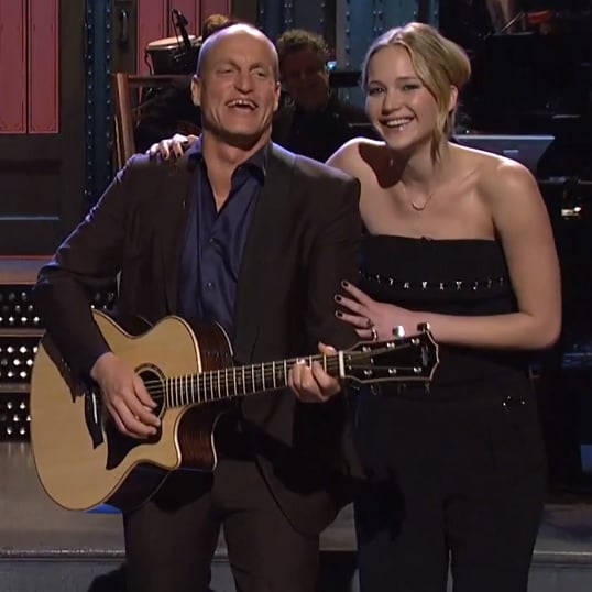 """Hunger Games Cast Performs """"Blank Space"""" on SNL 