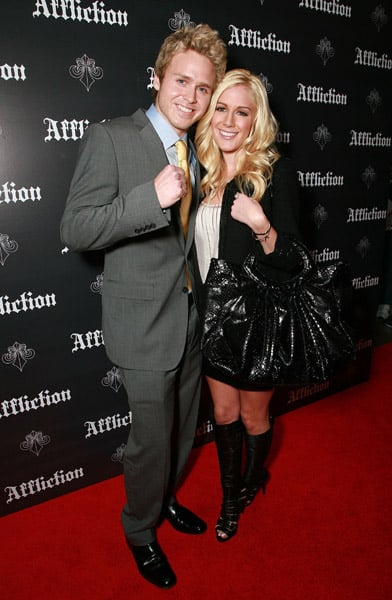 Heidi and Spencer at Affliction