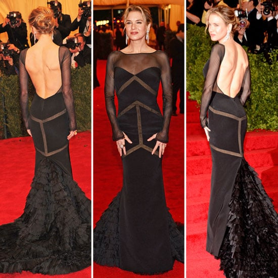 Renee Zellweger at Met Gala 2012