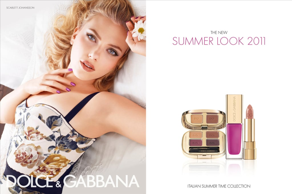 Dolce & Gabbana: Scarlett Johansson is a Colour Chameleon