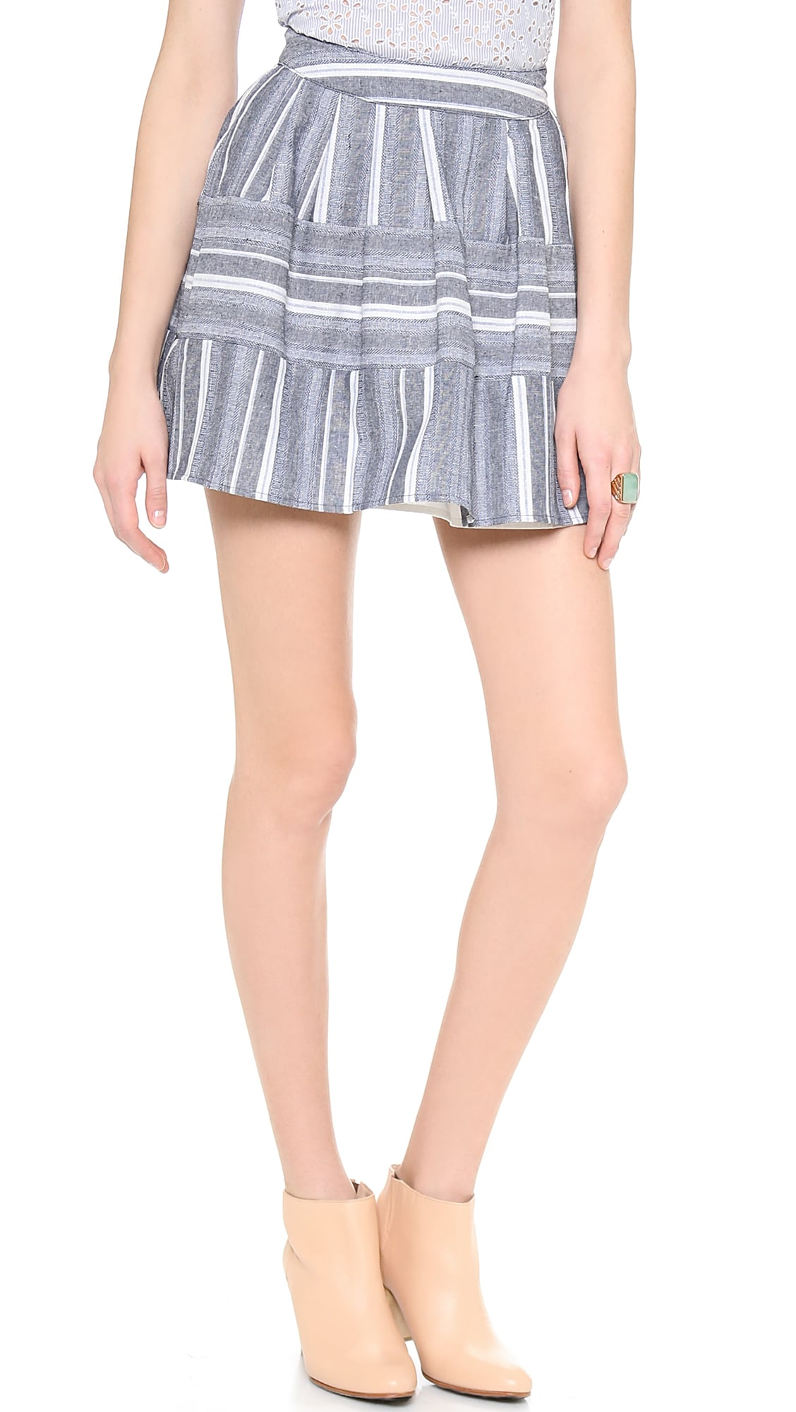 JOA Pleated Skirt
