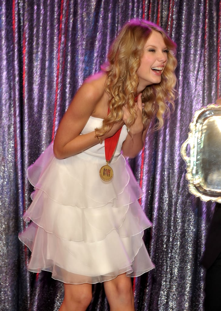 She received an award for her songwriting in May 2009.