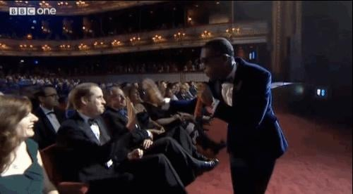 He Also Gave a Really Awkward High Five to Tinie Tempah