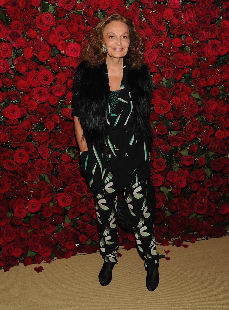 Diane Von Furstenberg came out to support film in NYC.