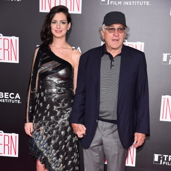 Anne Hathaway and Robert De Niro at The Intern NYC Premiere