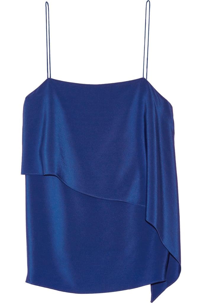 Tibi Layered Silk top ($285)