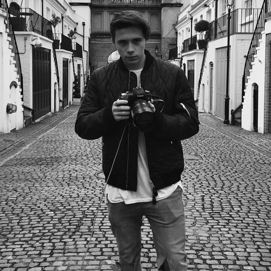 Brooklyn Beckham's Burberry Campaign