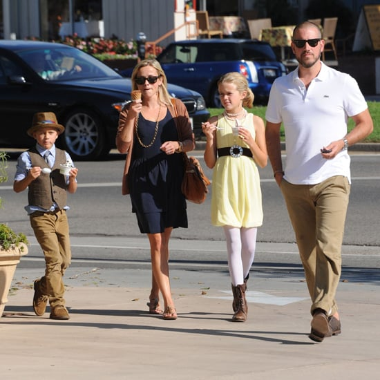 Reese Witherspoon Takes Ava and Deacon to Pinkberry Pictures