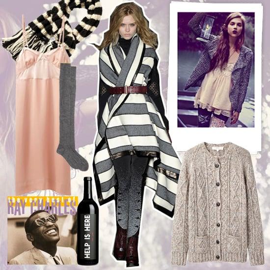 Winter Fashion Mood Board   Winter 2012