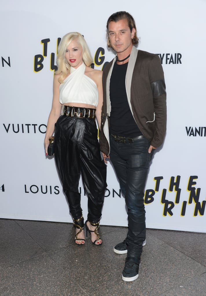 The ensemble Gwen Stefani wore to the LA premiere of The Bling Ring was statement on its own, but then she added equally spotlight-worthy sandals.