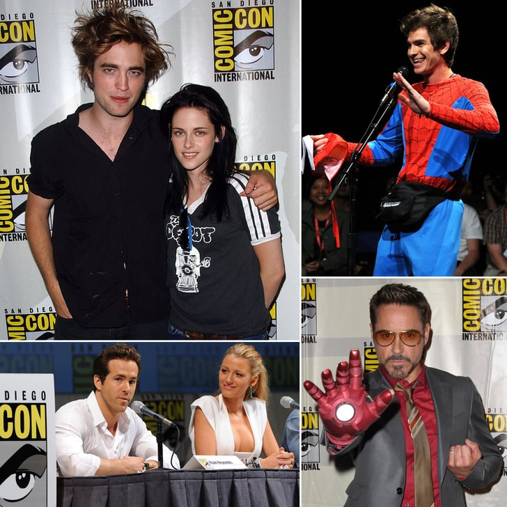 See Rob, Kristen, Andrew, and More at Comic-Cons Past!