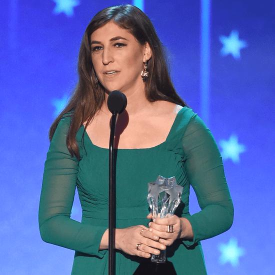 Mayim Bialik's Critics' Choice Awards Speech 2016