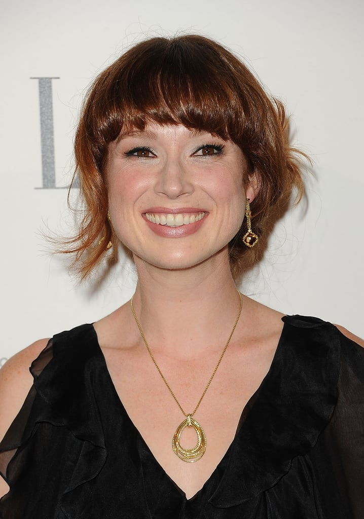 Ellie Kemper was all smiles on the red carpet.