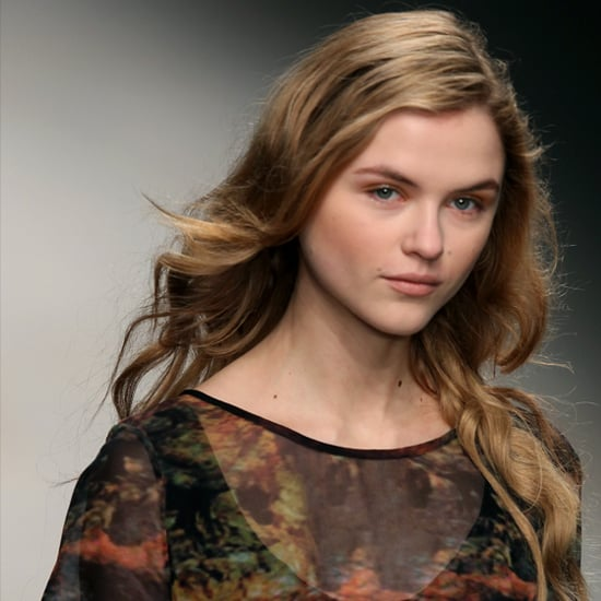 Felder Felder Fall 2012 Beauty Look: Hair, Makeup, Nails
