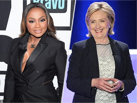 WATCH: Did Phaedra Parks Just Reveal That She Supports Hillary Clinton?