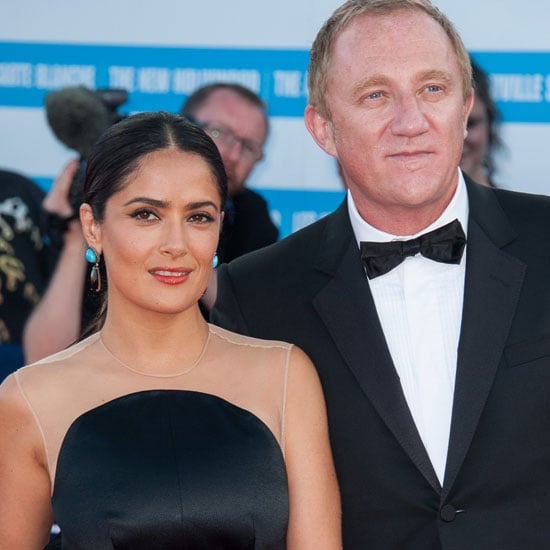 Salma Hayek At The Deauville Film Festival