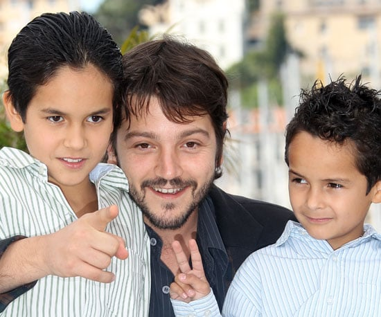 Slide Picture of Diego Luna at Cannes Film Festival