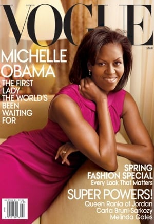 Photos of Michelle Obama On Cover Of Vogue March Issue