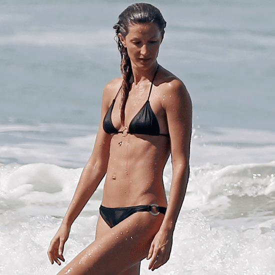 Gisele Bundchen at the Beach in Costa Rica | Pictures