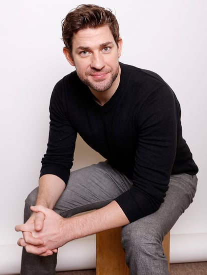 John Krasinski on 2½-Year-Old Daughter Hazel's Opinion of Her New Baby Sister Violet: 'I Think She's in Heaven'