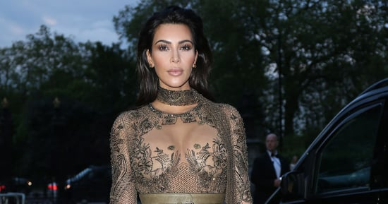 Kim Kardashian Goes Sheer in a Lace Dress for Vogue's 100th Birthday