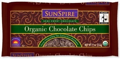 Sunspire Organic Chocolate Chips